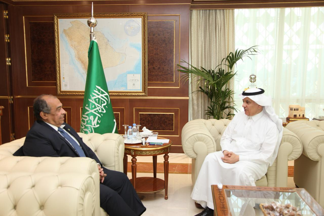 Al-Fadley Discusses with Egypt' Minister of Agriculture Key Topics in Agricultural Sector